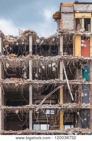 Demolition Of A Bulding