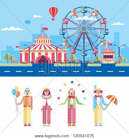 Circus and Clowns