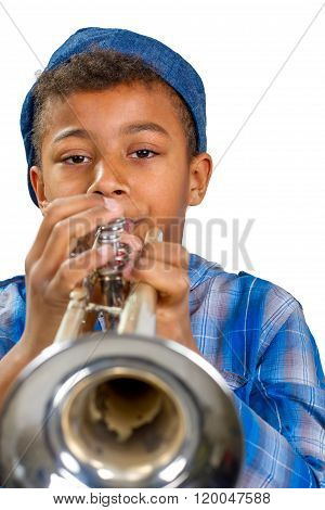 Young musician.