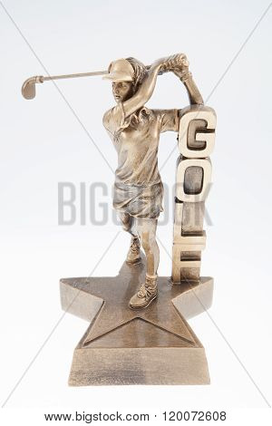 Female Golf Trophy