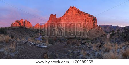 Smith Rock State Park panorama