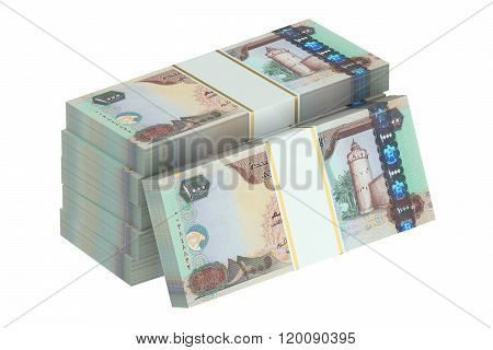 Packs Of United Arab Emirates Dirhams