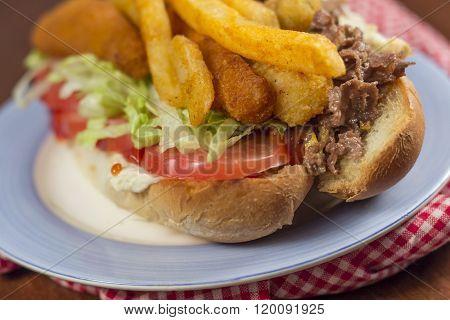 Grease trucks New Brunswick fat sandwich cheesesteak