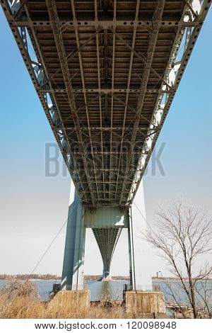 Beneath The Verrazano-narrows Bridge