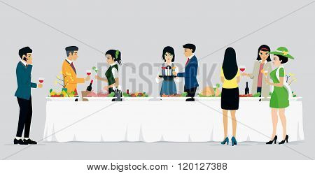 Catering hotels