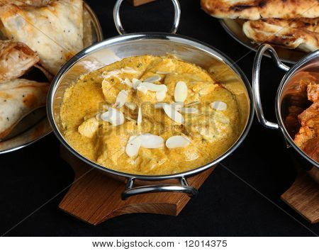 Indian chicken passanda curry