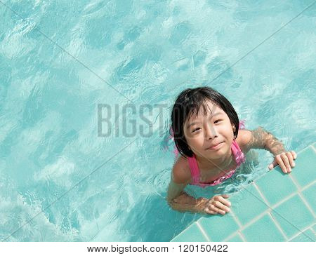 Kid In Swimming Pool