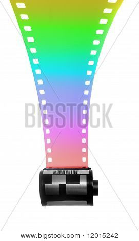 35Mm Filmstrip For Color Photography
