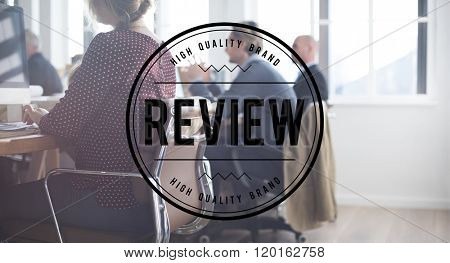 Review Appraisal Inspection Evaluate Audit Concept