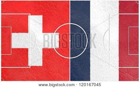 Swizerland vs France Europe football championship