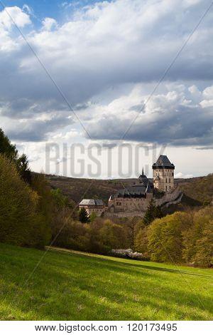 Karlstejn Castle In The Forest