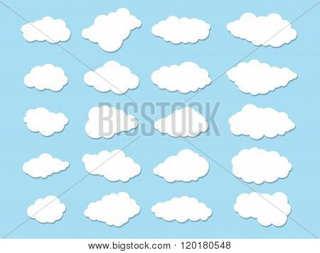 Twenty Simple Clouds