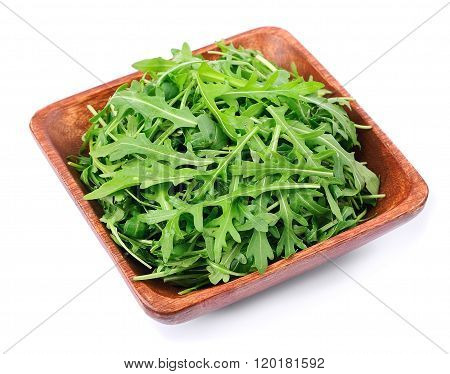 Arugula Salad In Plate