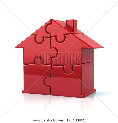 Red Puzzle House