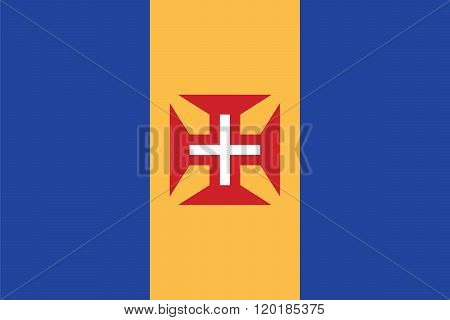 Standard Proportions For Madeira Official Flag