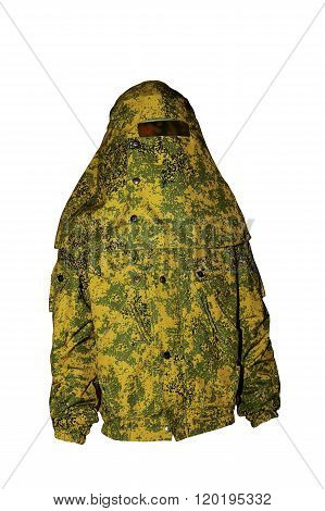 Protective  Clothing Of The Camouflage Coloring