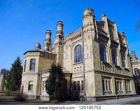 Kiev Polytechnic, Historic Building, Faculty Of Chemistry, Ukraine.