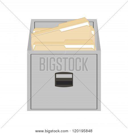 Opened Card Catalog