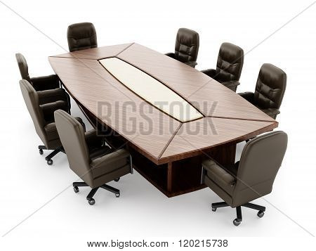 Boardroom Table And Chair