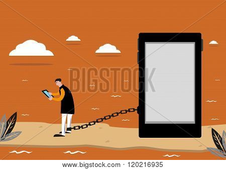 Prisoner of Social Media or Addiction to the Internet