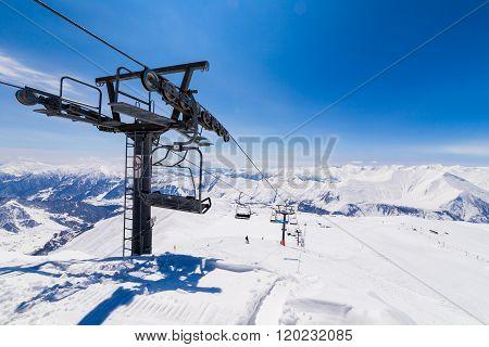 Big ski lift