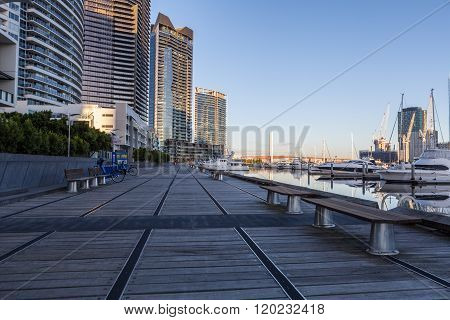 Docklands Waterfront Boardwalk