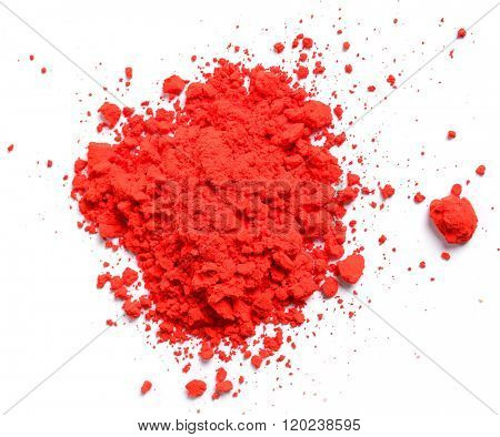 Celebration. Powder for Holi festival