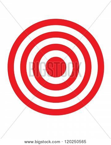 Vector Bullseye Graphic
