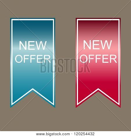 New  Offer Stickers