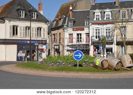 France, The Picturesque City Of Cosne Cours Sur Loire