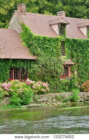 France, The Picturesque Village Of Fourges