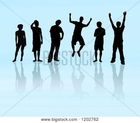 Team - Group Of 6 People