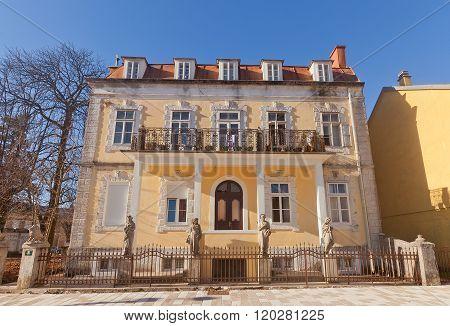 Djukanovic House In Cetinje, Montenegro