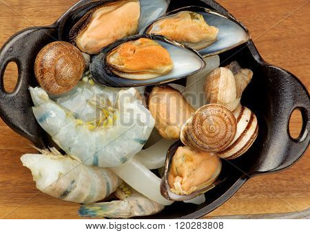 Delicious Raw Seafood