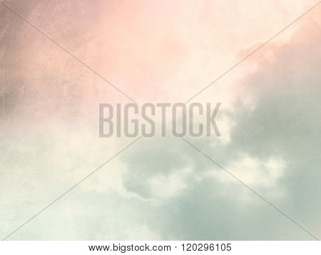 Abstract soft blurred retro sky background