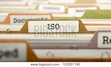 File Folder Labeled as ISO.