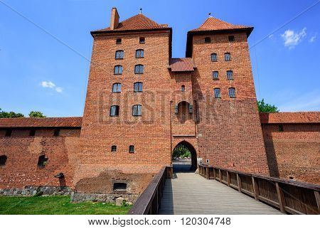 Red Brick Towers Of The Teutonic Order Castle, Malbork, Poland