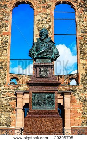Anti-War Memorial Walloon Dutch Church in Hanau, near Frankfurt