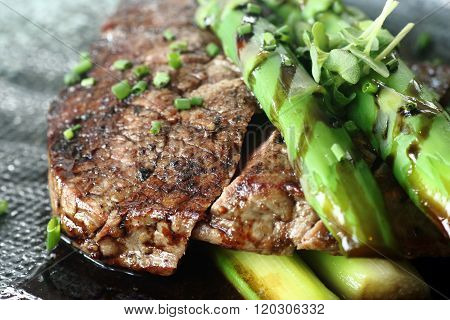Beef With Asparagus 1