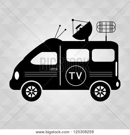 Car Tv Symbol