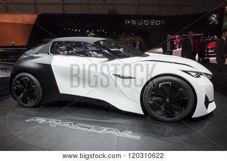 Peugeot Fractal Concept Car