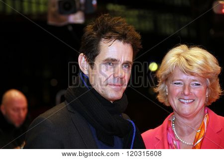 Tom Tykwer, Monika Gruetters attend the 'Hommage For Michael Ballhaus' during the 66th Berlinale International Film Festival Berlin at Berlinale Palace on February 18, 2016 in Berlin, Germany.