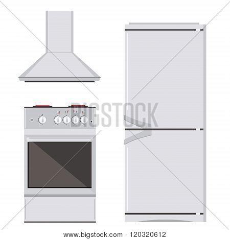 Kitchn Appliance Icon Set