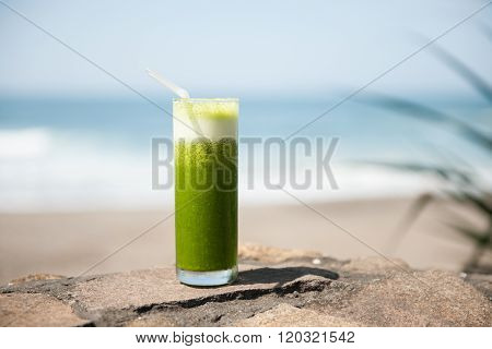 Healthy, fresh, fruit, tropical drink stock picture