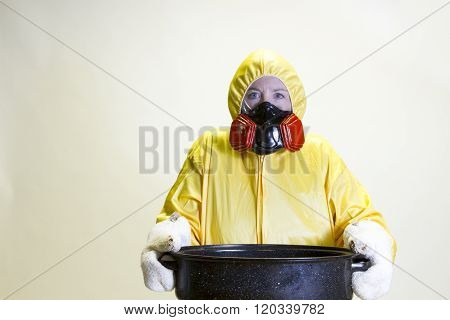 Kitchen Disaster, Hazmat Suit