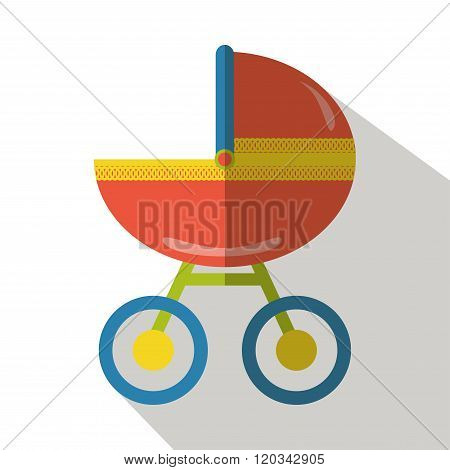 Baby carriage. Baby carriages. Baby carriage icon. Baby carriage vector. Baby carriage flat. Baby carriage black. Baby carriage isolated. Baby carriage outline. Baby carriage side view. Baby carriage
