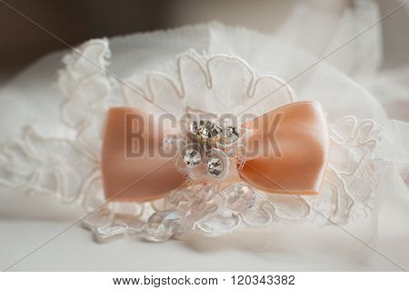 Bridal Garter With Other Details