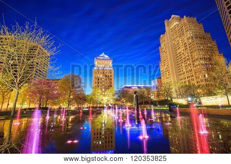Public  Citygarden In Downtown St. Louis