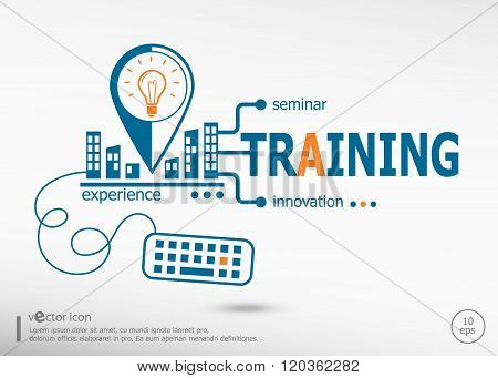 Training Concept For Application Development, Creative Process.