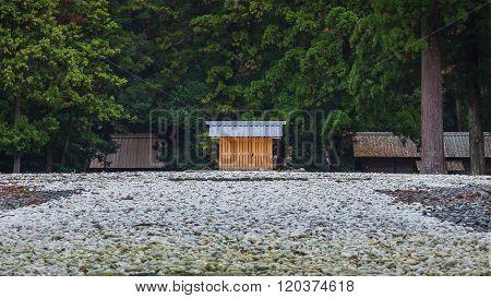 Ise Jingu Geku(Ise Grand shrine - outer shrine) in Ise City Mie Prefecture poster